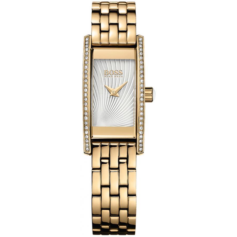 Dames Cocktail 1502384 Hugo Boss Zwart Horloge Gratis Verzending
